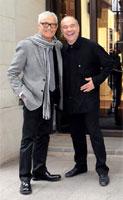 Vidal Sassoon e Tony Rizzo