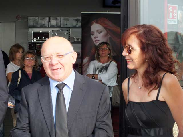 Enzo Mombelli e la moglie Silvana