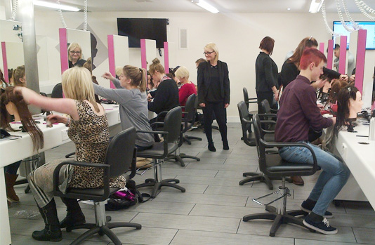 Alan d Hairdressing Education