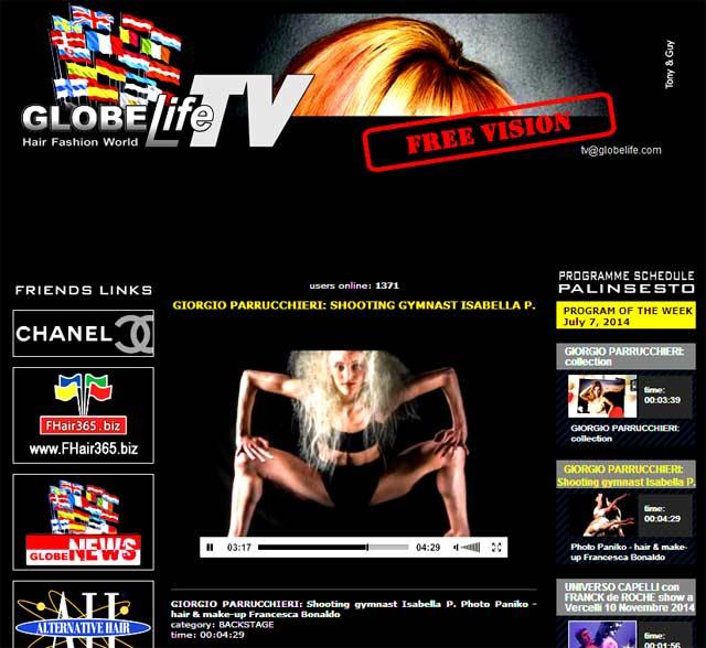 GIORGIO PARRUCCHIERI - GLOBElife.TV