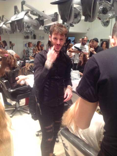 Giorgio Parrivecchio Backstage