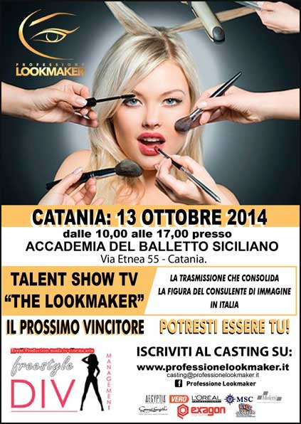 PROFESSIONE LOOKMAKER - Tappa a Catania