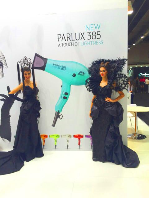 Parlux 385 PowerLight® Light Blue Emerald
