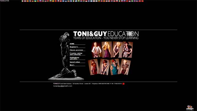 TONI&GUY EDUCATION