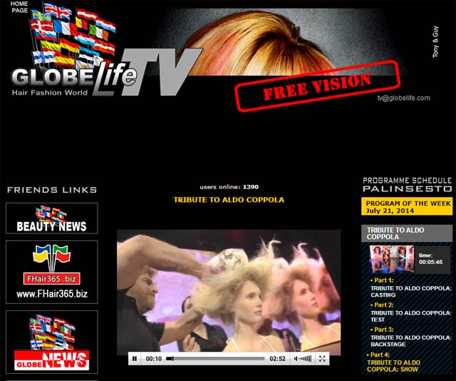ALDO COPPOLA - GLOBElife.TV