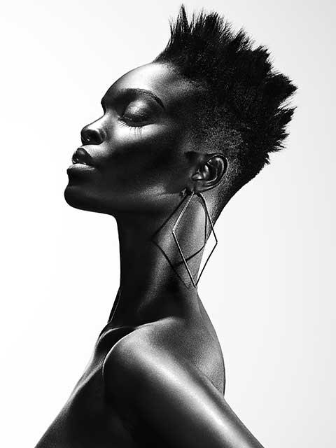 Charlotte Mensah @ Hair Lounge