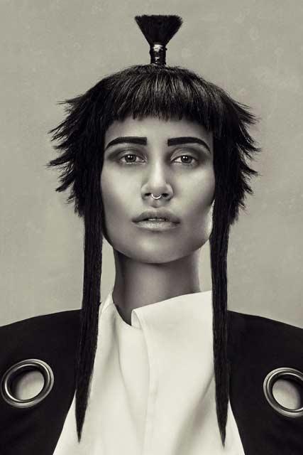 Mary Alamine @ Royals Hair