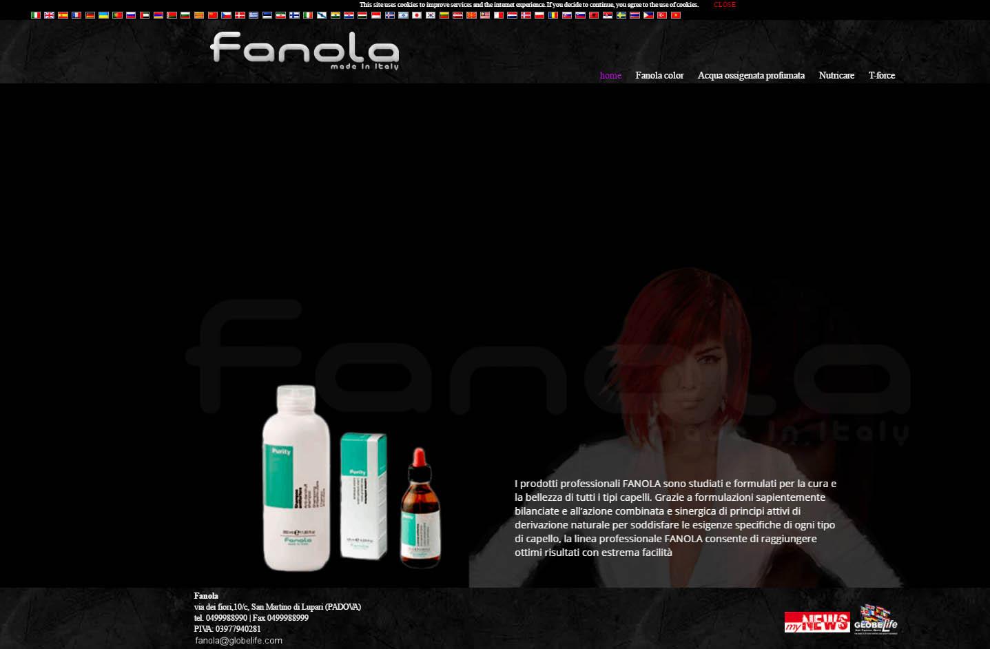 fanola-spot