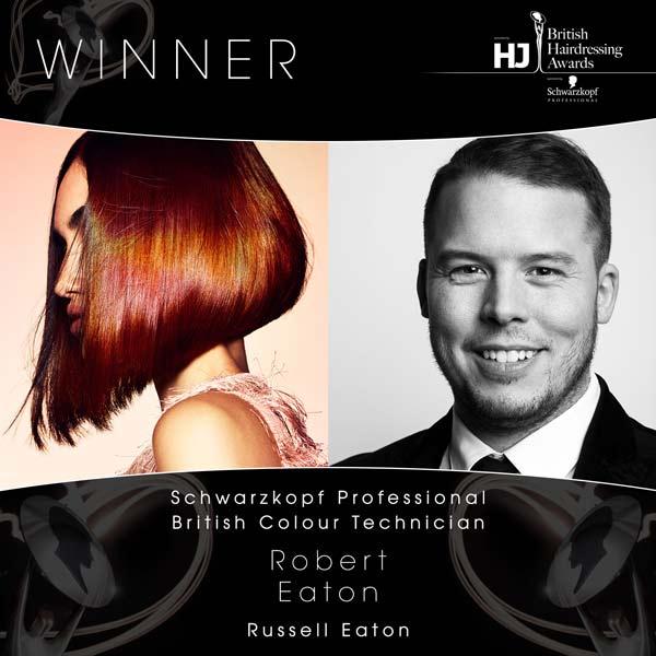 British Hairdressing Awards London Uk The Winners
