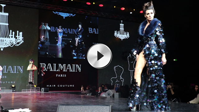 balmain hair award
