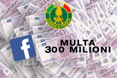 multa-facebook-guardiadifinanza