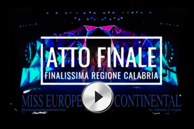MissEuropeContinental_finale_calabria