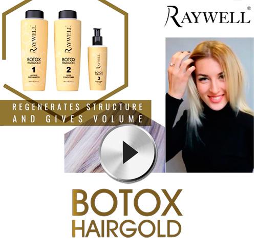 raywell botox hairgold