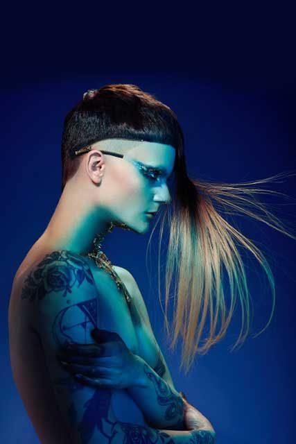 Lea Shaw international hairstylist