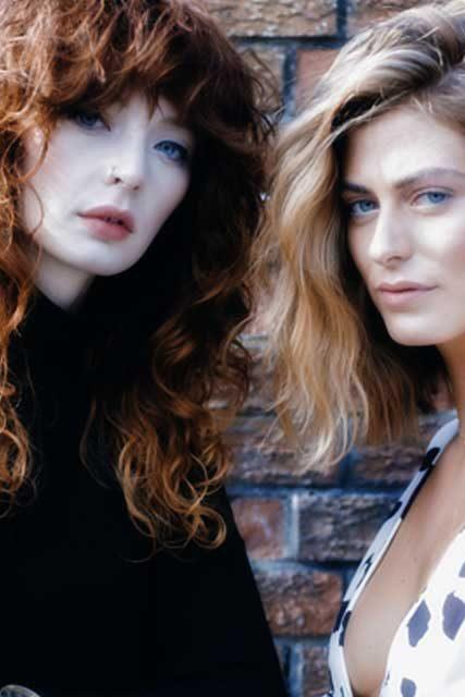 Alison Stewart and Mairi McQueen International Hairstylist
