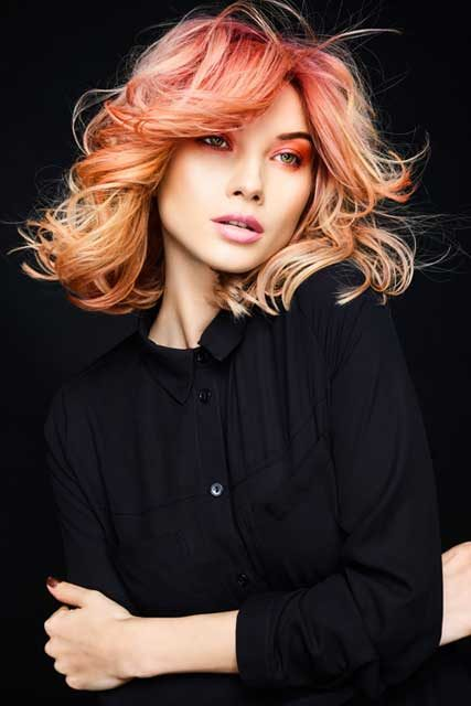 Harry Casey and Marney Lian For Jamie Stevens Internationals Hairstylists
