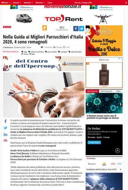 RavennaNotizie pubblica l'elenco dei parrucchieri della Romagna