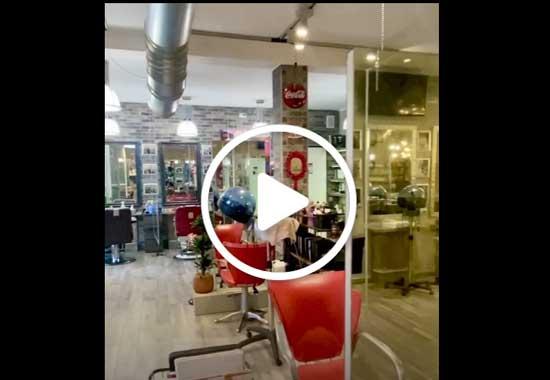 Stefano Conte presenta come ha riorganizzato il suo salone in sicurezza