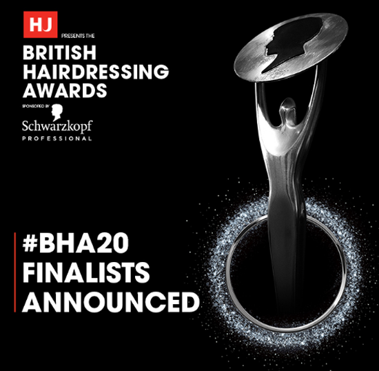 british hairdressing award 2020 finaists