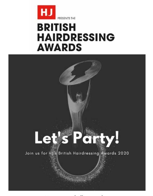 HJ's BRITISH HAIRDRESSING AWARDS 2020