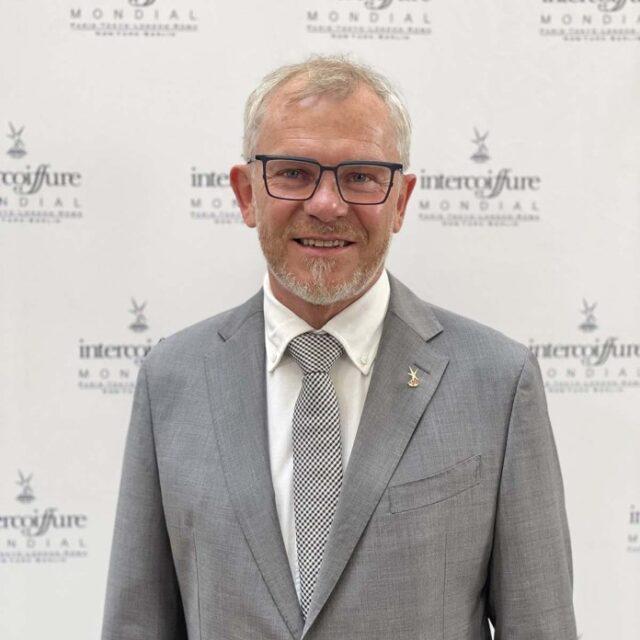 Peter F. Pfister, nuovo presidente Intercoiffure Mondial