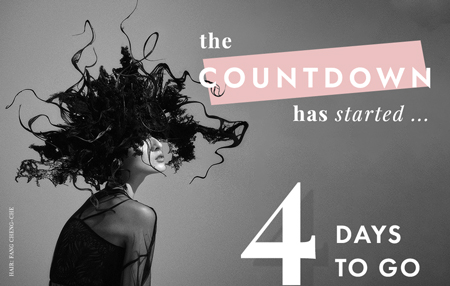 the COUNTDOWN has started... 4 DAYS TO GO